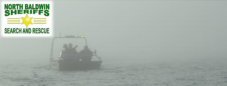 picture, Boat searching in the fog